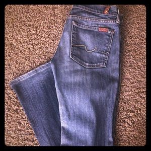 Authentic Seven for all mankind jeans, size 27